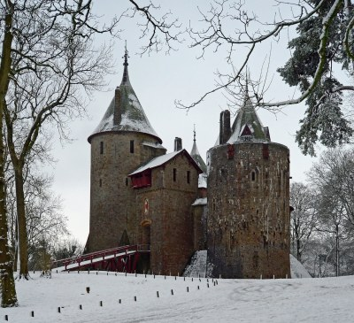 Snowy Castell Coch, (near Cardiff) - January 2013