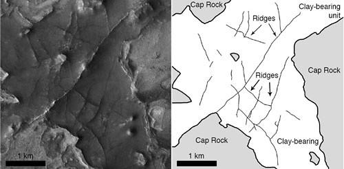 Marte - Nili Fossae e Nilosyrtis