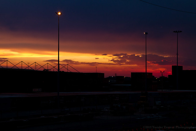 dusk Thursday 21 February 2013