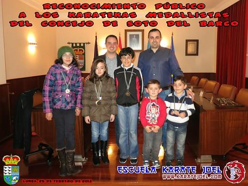 Foto de grupo de los Reconocimientos Públicos en Soto del Barco