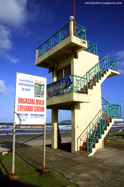 Bagasbas Beach Lifeguard post Daet Camarines Norte