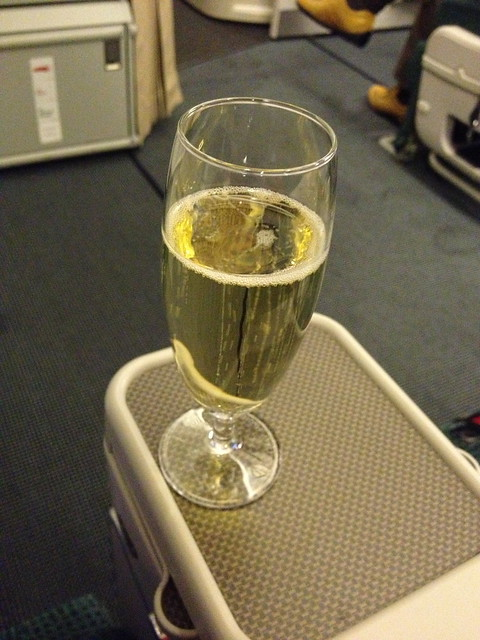 Champagne for Welcome Drink