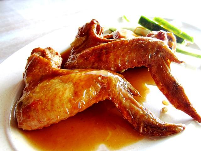 RC honey chicken wings