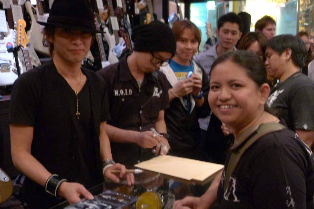 Inoran Meet & Greet in Bangkok 2013