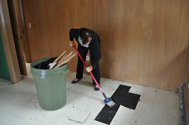 Pulling up Tiles