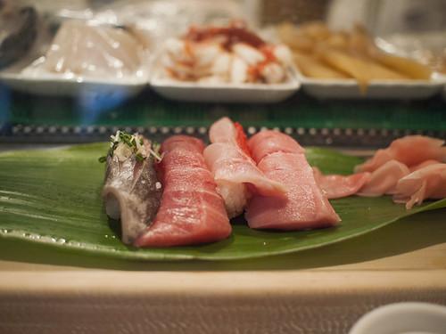 Tsukiji Market - Sushi!