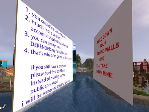 Stupid Walls!