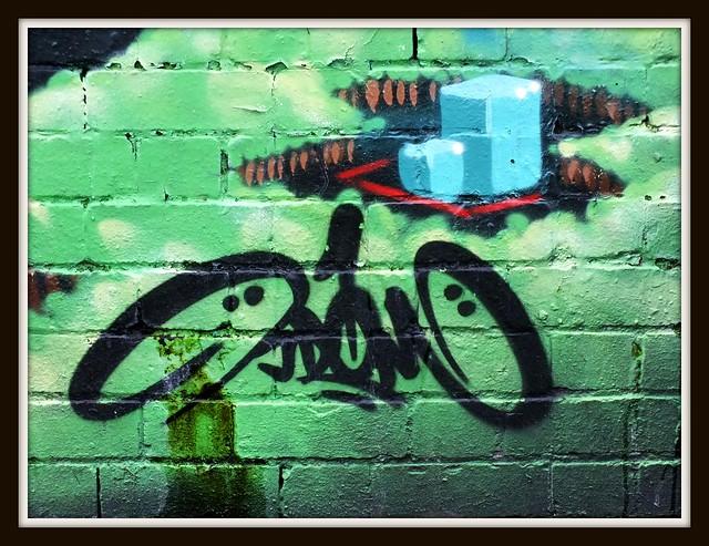 Graffiti Street Art, Severnoaks Park, Cardiff