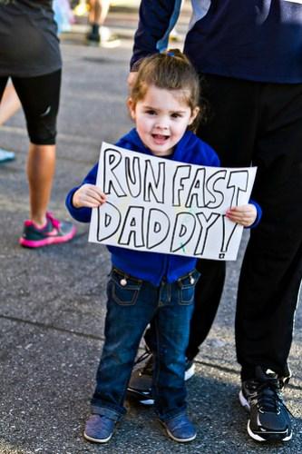 run fast daddy!