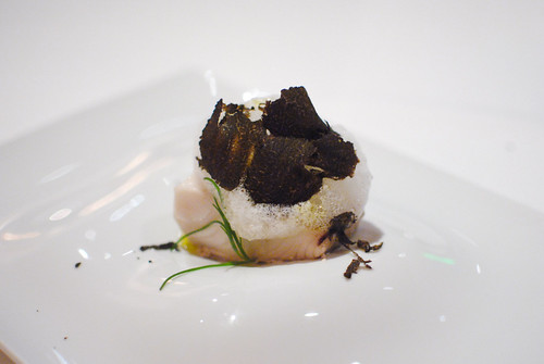Steamed Fish with Black Pepper Air