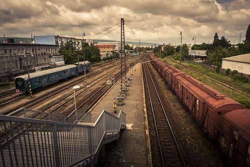 The Blue Train Or the Red Train (Bratislava, Slovakia) - Photo : Gilderic