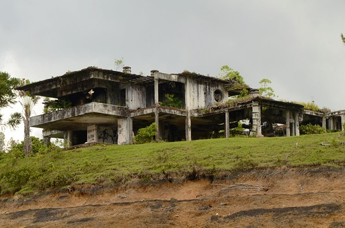 Pablo's bombed house