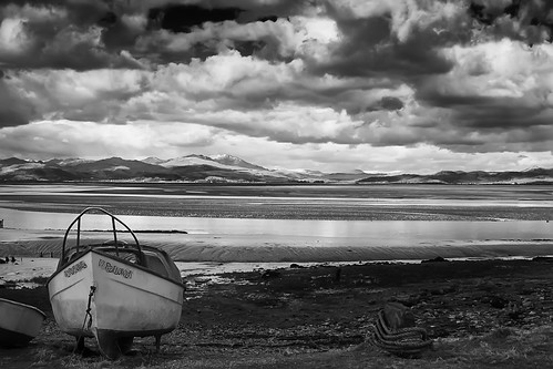 Duddon Estuary Monochrome High Contrast by Mark Winterbourne | P H O T O G R A P H Y