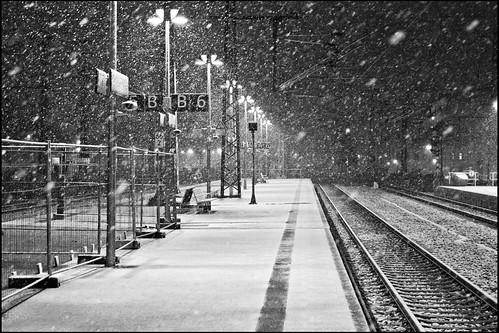 Snow on  B6