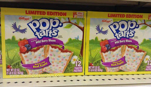 Limited Edition Frosted Wild Berry Bloom Pop-Tarts