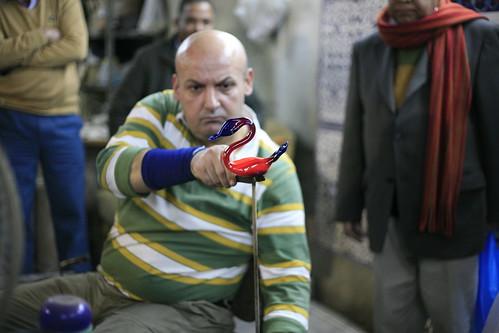 glass blower, Hebron
