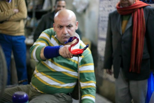 glass blower, Hebron