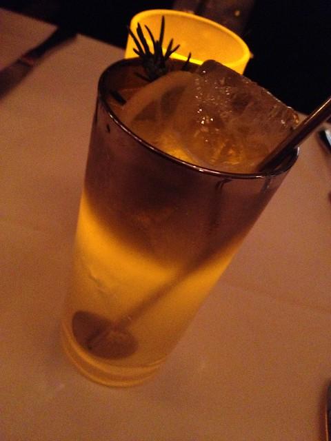 Bison Rose cocktail - AQ Restaurant