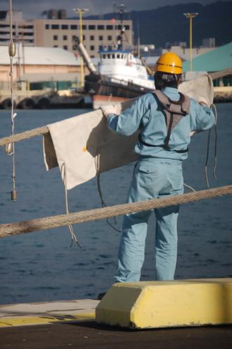 Kaiwo Maru chafing gear