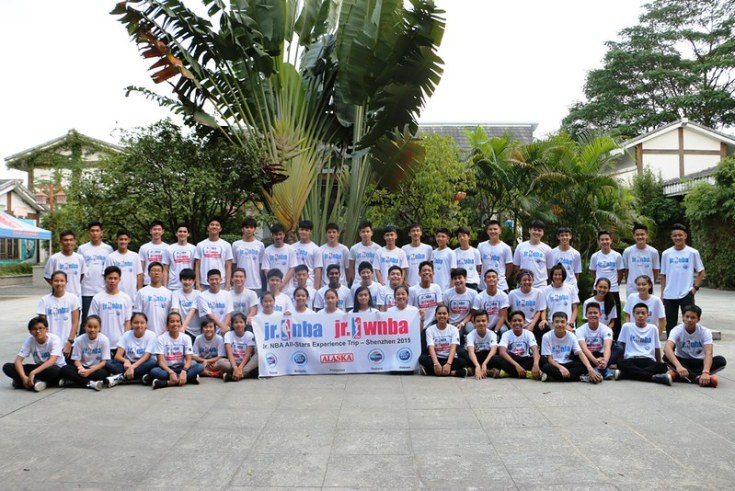 Jr NBA All-Stars from Malaysia, Philippines, Thailand, and Vietnam visit the Dongguan Xiangxi Zoo