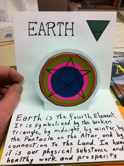 Elemental Pop-up book: Earth