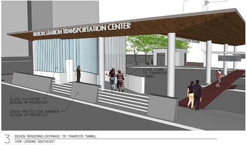 Union Station Transportation Center SE View