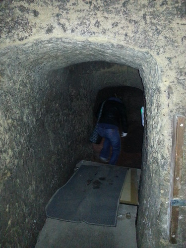 Ghost Hunt at Galleries of Justice - Cave Entrance