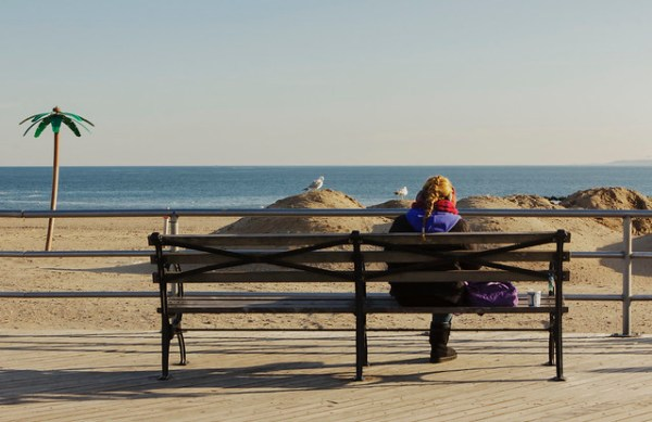 Chillin' | Coney Island Beach Off Season