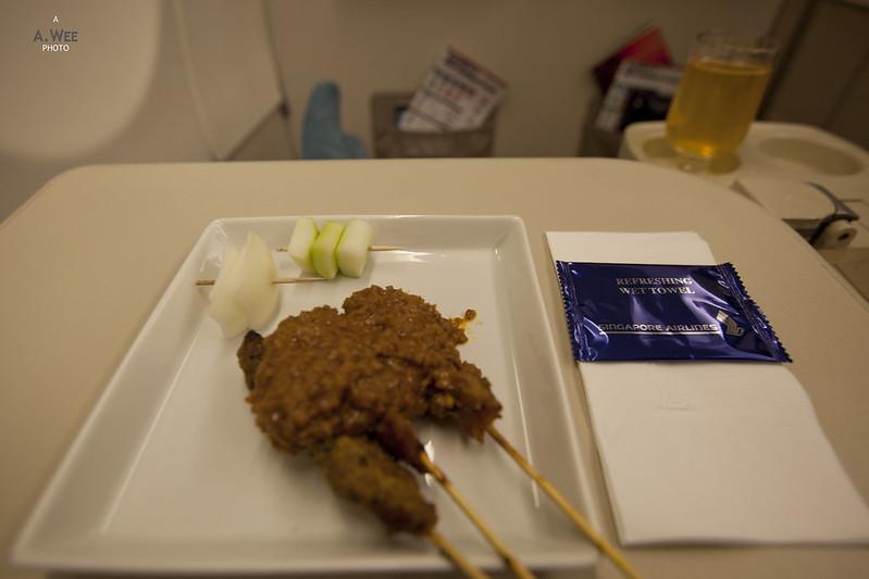 Pre-dinner Satay