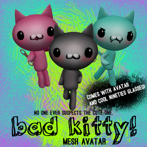 Bad Kitty! Mesh Avatar