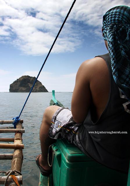 Going to Anawangin Cove