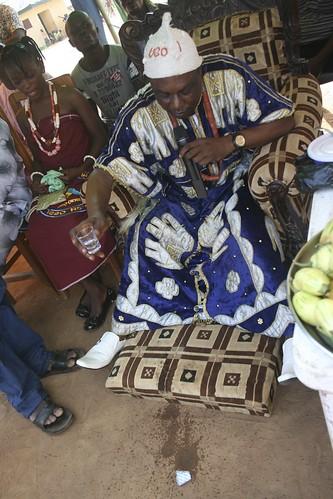 Ugo One of Pyakasa Pours Libation at Igbo New Yam Festival by Jujufilms