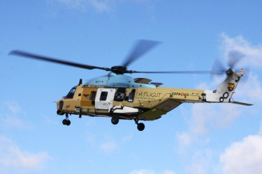First NH90 made in Spain