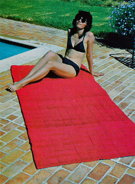 Quilting Overload Beach Throw 1973
