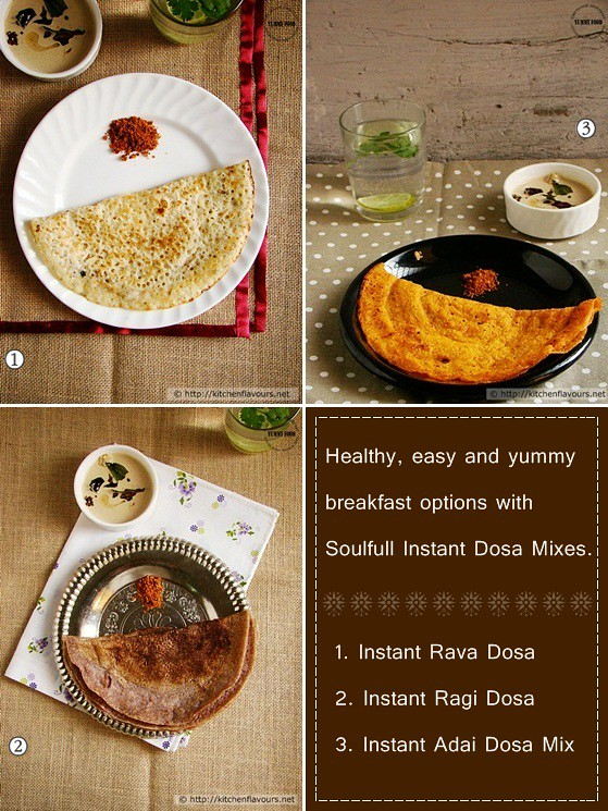 Product Review - Soulfull Insant Dosa Mix