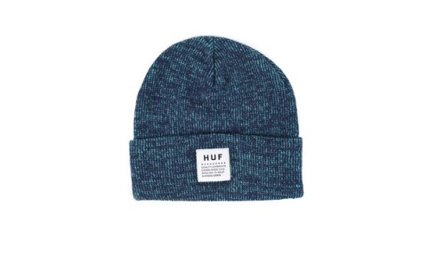 HUF_Spring_2013_Mixed_Yarn_Beanie_Blue