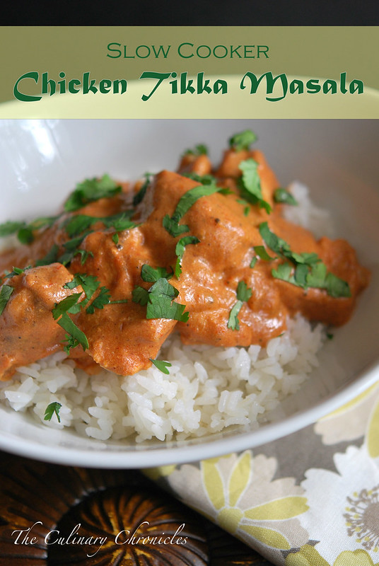 Slow Cooker Chicken Tikka Masala