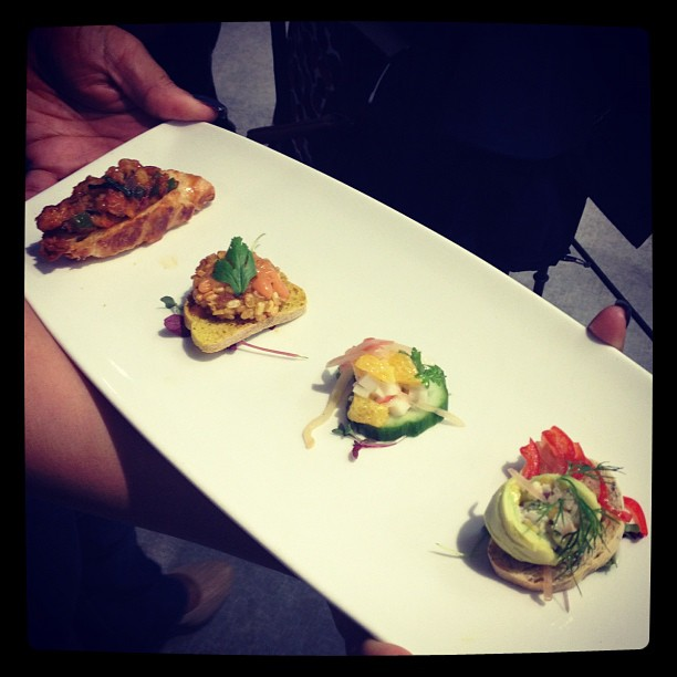 The dishes from the second finalist #chefcompetition #cityfoodfestival #citylife #lifeinevents