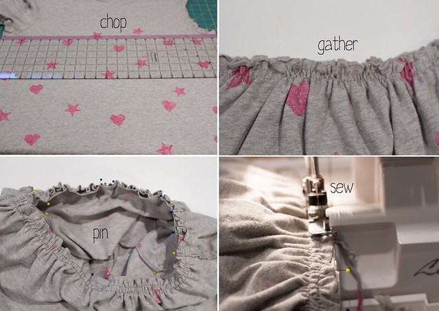two t-shirt nightgown tutorial