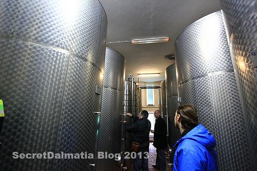 Grabovac wine cellar