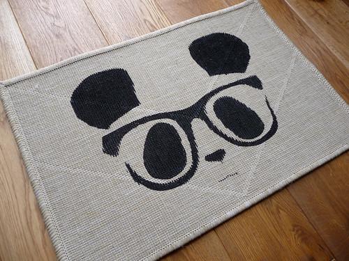 Geek Chic Panda Door Mat