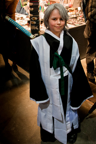Hitsugaya Toushirou from Bleach cosplay at Made in Asia 5