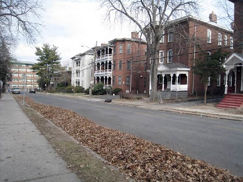 street in Frog Hollow, Hartford (by: Nelson Byrd Woltz for US EPA)