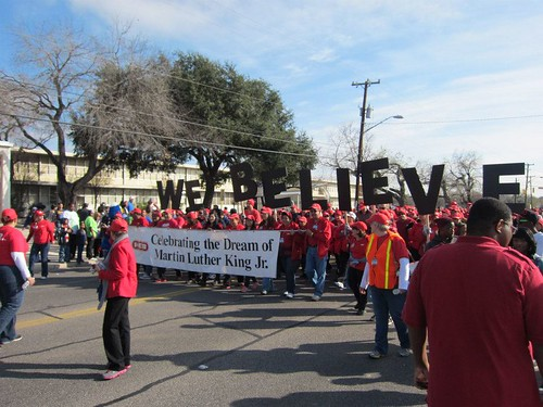 2013 San Antonio MLK March