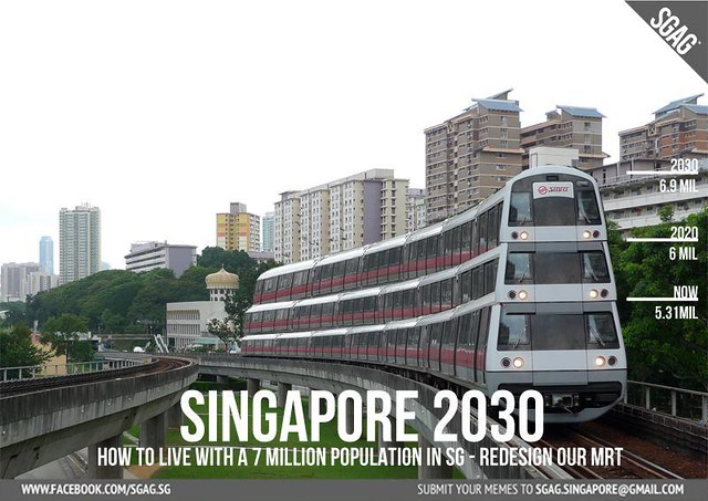 MRT train upgrading for 2030.