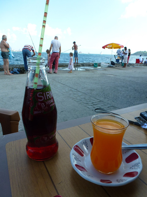 Turquie - jour 3 - Istanbul - 50 - Kabataş - Kaptanlar Çay Bahçesi