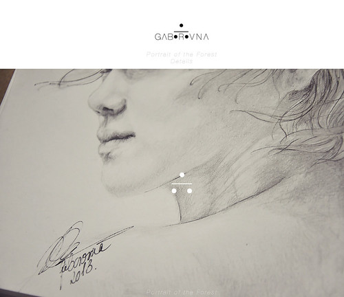Portrait of the Forest (Luhan fanart) - Details