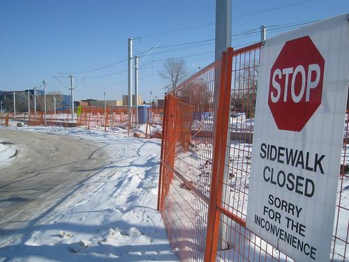 North LRT to NAIT Construction