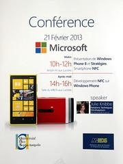 Conférence Microsoft au MBDS