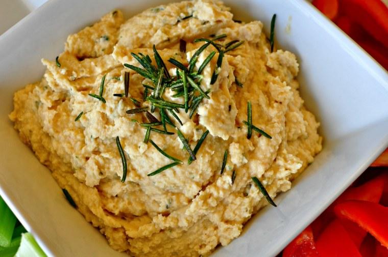 Rosemary Hummus 3